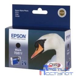 EPSON C13T11114A10/C13T08114A Epson картридж для St.Ph. R270/R390/RX590 (черный) 480 стр. (cons ink)