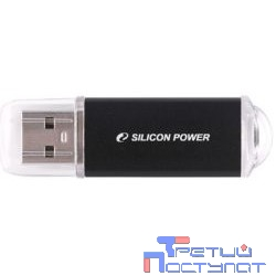Silicon Power USB Drive 8Gb Ultima II SP008GBUF2M01V1K {USB2.0, Black}