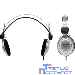 COSONIC CD721V Silver-Black {Наушники с регулятором громкости}