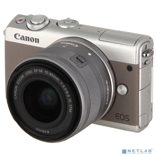 Фотоаппарат цифровой Canon Canon EOS M100 EF-M15-45 IS STM Kit (GY)