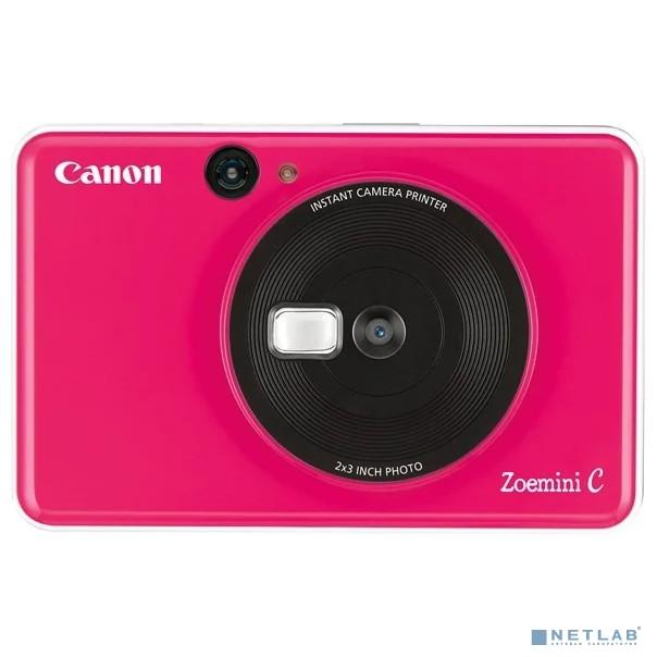 Фотокамера моментальной печати Canon Zoemini C Pink