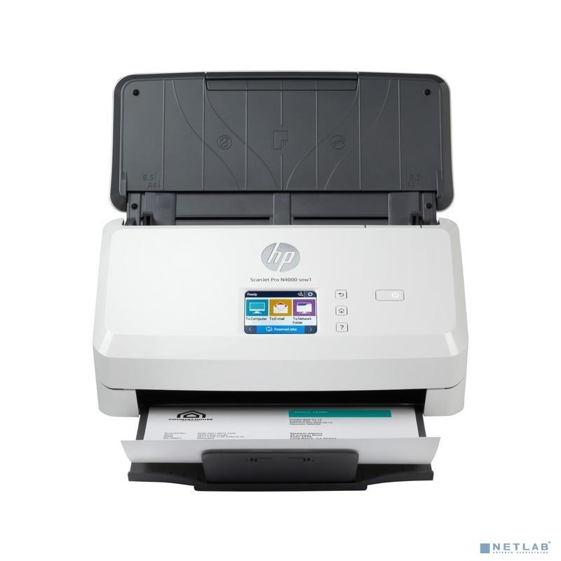 Сканер HP ScanJet Pro N4000 snw1 (6FW08A)
