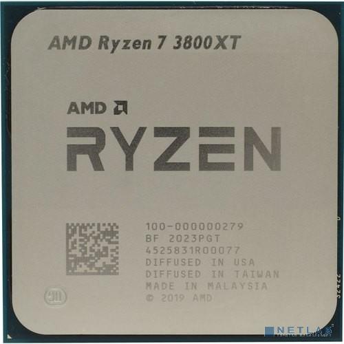 CPU AMD Ryzen 7 3800XT OEM {3.9GHz up to 4.7GHz/8x512Kb+36Mb, 8C/16T, Matisse, 7nm, 105W, AM4}