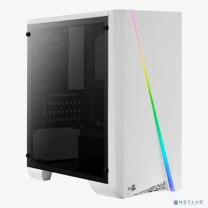 MiniTower AeroCool Cylon Mini White ( mATX, Window , без БП )''[59266]