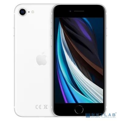 Apple iPhone SE 64GB White [MHGQ3RU/A] (New 2020)