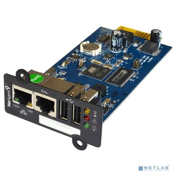 SVC, BY506 Внутренняя SNMP-карта для ИБП серии: GT31, GT33, MRX, Интерфейсы:1*10/100 Base-T Fast Ethernet(RJ45)+1*10/100 Base-T Fast Ethernet(RJ11)+2*USB(A)