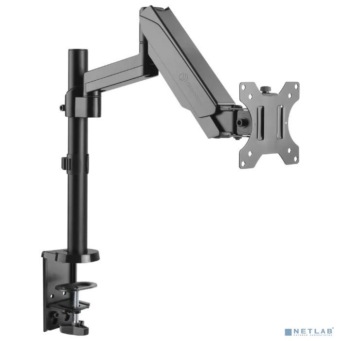 ONKRON G70 чёрный {Для экранов диагональю 13''-34'' Допустимая нагрузка: 1-8 кг (2.2 - 17.6 lbs) VESA: 100x100, 75x75}
