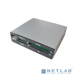USB 2.0 Card reader All in 1, int. 3.5