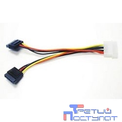 Gembird Кабель Serial ATA Power converter (на два устройства) Gembird [CC-SATA-PSY]