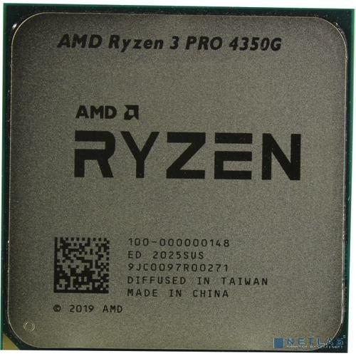 CPU AMD Ryzen 3 PRO 4350G AM4 {(100-100000148MPK) (3.8GHz/AMD Radeon) Multipack}