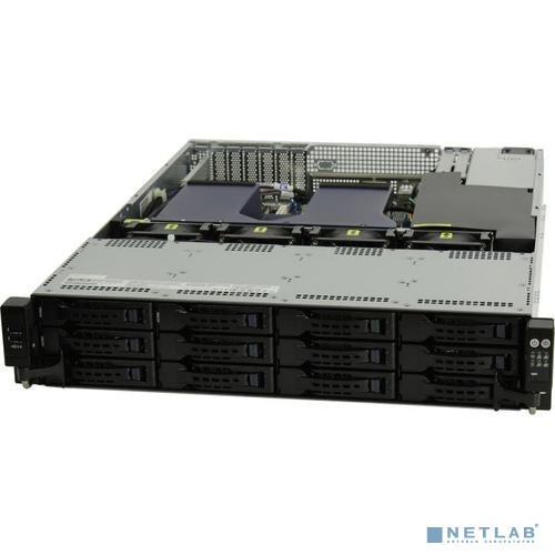 RS520-E9-RS12-E 3x SFF8643 + 4x OCuLink on the  backplane, 4x ports OCuLink card + cables, RAID/HBA SAS required!, 2x 2.5 rear trays included, 2x 800W