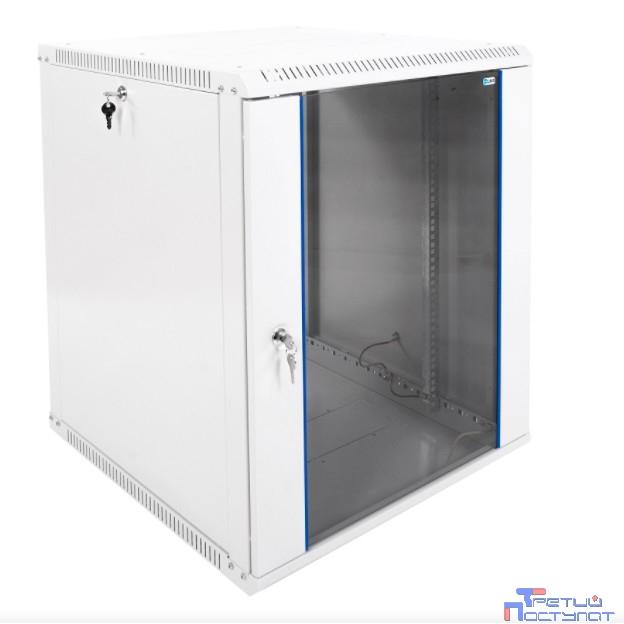 ЦМО! Шкаф телеком. настенный разборный 15U (600х650) дверь стекло (ШРН-Э-15.650) (1 коробка)