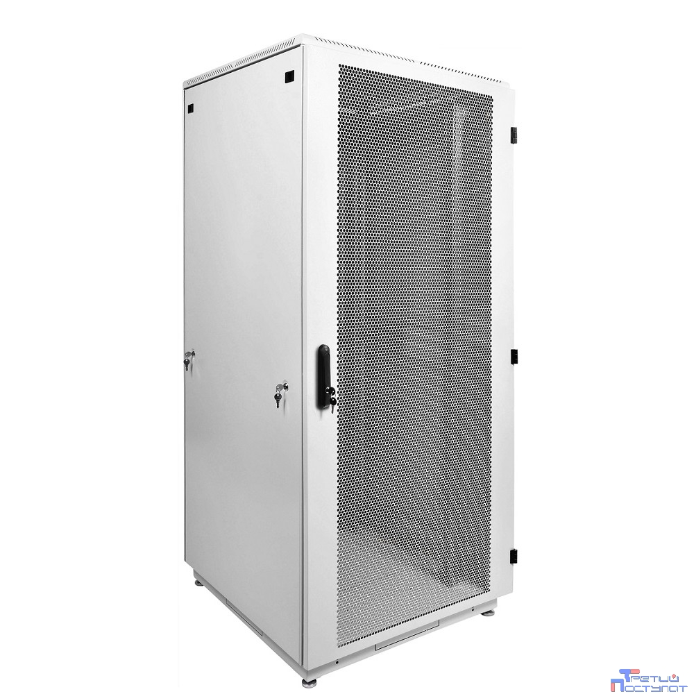 ЦМО! Шкаф телеком. напольный 42U (800x1000) дверь перфорированная (ШТК-М-42.8.10-4ААА) (3 коробки)