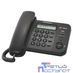 Panasonic KX-TS2356RUB (черный) {АОН,Caller ID,ЖКД,блокировка набора,выключение микрофона}