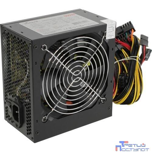 Б/питания Winard 600W (600WA12) ATX, 12cm fan, 20+4pin +4Pin, 3*SATA, 1*FDD, 4*IDE , 6Pin оплетка, черный