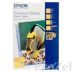 EPSON C13S041624 (Бумага Premium glossy) глянцевая, A4, 255 Г/М2, 50 Л.