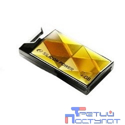 Silicon Power USB Drive 8Gb Touch 850 SP008GBUF2850V1A {USB2.0, Amber}