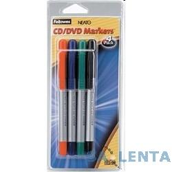 Fellowes CD Маркеры FS-8449602, 4 цвета
