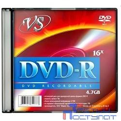 Диски VS DVD-R 4.7Gb, 16x, Slim Case 5шт.