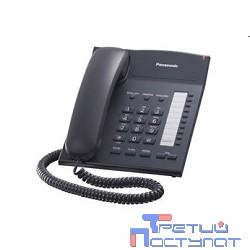 Panasonic KX-TS2382RUB (черный) {индикатор вызова,повторный набор последнего номера,4 уровня громкости звонка}