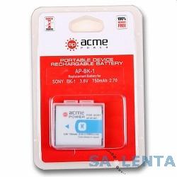 Аккумулятор AcmePower BK-1 (3.6V, min 950mAh, Li-ion)  для CyberShot DSC-S750/ S780