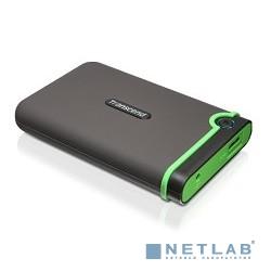 Transcend Portable HDD 500Gb StoreJet TS500GSJ25M3 {USB 3.0, 2.5'', black-green}