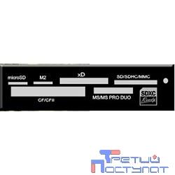 USB 2.0 Card reader SDXC/SD/SDHC/MMC/MS/microSD/xD/CF, 3.5