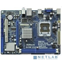 ASRock G41M-VS3 R2.0 RTL {S775, G41, DDR3 1333(OC), PCI-E, 6ch Audio, SATAII, mATX}