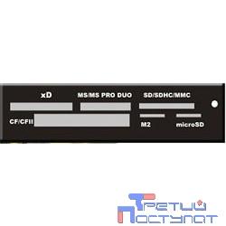 USB 2.0 Card reader SD/SDHC/MMC/MS/microSD/xD/CF, 3.5