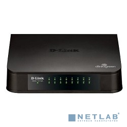 D-Link DES-1016A/E1B Неуправляемый коммутатор с 16 портами 10/100Base-TX и функцией энергосбережения