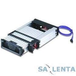 Бокс Vipower VPA-5010KPF-B-(GM) {алюм, защ, 2 вент, гор.замена} черный