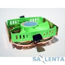 Cooler IceHammer IH-1200 HTPC {for Socket 1156/775/AM3 (Al-Cu) 2 теплотрубки, низкий профиль}