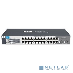 HP J9561A HP V1410-24G Switch (Unmanaged, 22*10/100/1000 + 2*10/100/1000 or SFP, QoS, 19'')