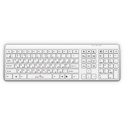 Oklick 560S Multimedia Keyboard USB ммедиа (белый)