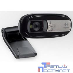 960-001066/960-000760 Logitech Webcam C170, USB 2.0, 640*480, 5Mpix foto, Mic, Black