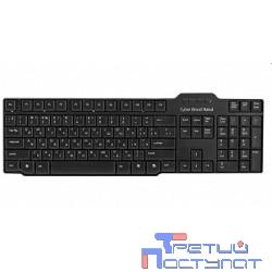 CBR KB 115D Black USB, Клавиатура 104 кл., slim