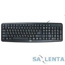 CBR KB 107 Black USB, Клавиатура 107 кл., офисн.