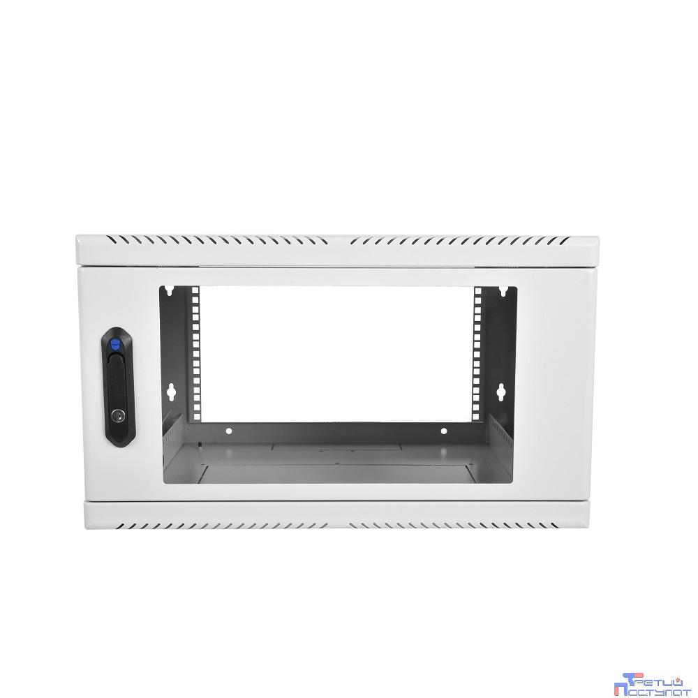 ЦМО! Шкаф телеком. настен, 12U, 600x480 дверь стекло (ШРН-12.480) (1 коробка)
