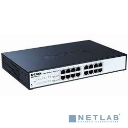 D-Link DGS-1100-16/B2A Настраиваемый компактный коммутатор EasySmart с 16 портами 10/100/1000Base-T
