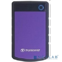 Transcend Portable HDD 500Gb StoreJet TS500GSJ25H3P {USB 3.0, 2.5'', violet}