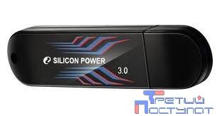 Silicon Power USB Drive 8Gb Blaze B10 SP008GBUF3B10V1B {USB3.0, Black}