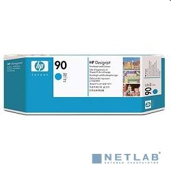 HP C5055A Печатающая головка + Чистящая головка №90, Cyan {Designjet 4000/4000ps/4500/4500ps, Cyan}