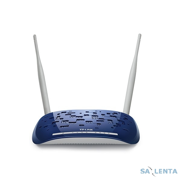 TP-Link TD-W8960N Роутер 300M Wireless ADSL2+ router, 4 ports, 2T2R