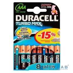 DURACELL LR03-8BL TURBO AAA (8 шт. в уп-ке)