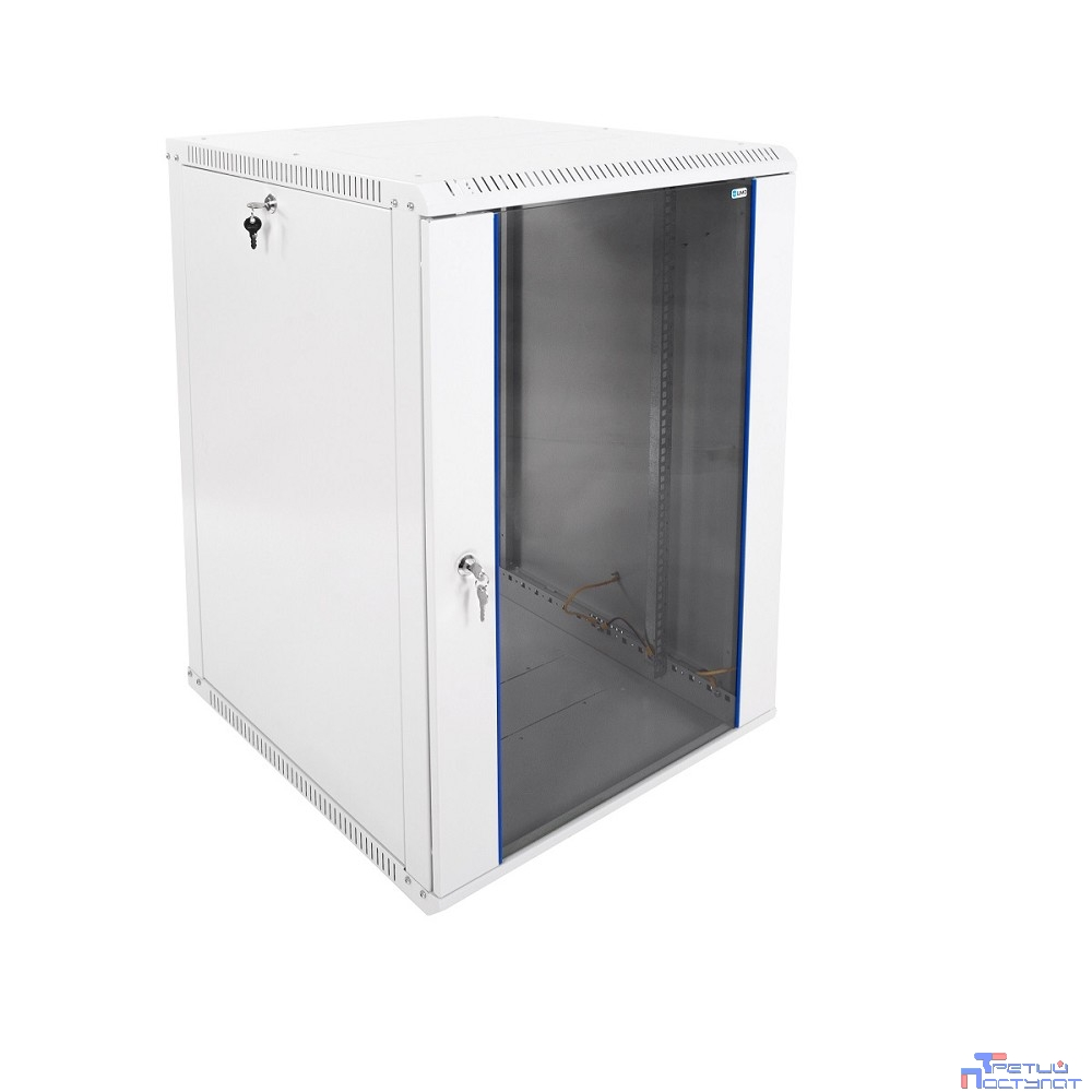 ЦМО! Шкаф телеком. настенный разборный 18U (600х650) дверь стекло (ШРН-Э-18.650) (1 коробка)