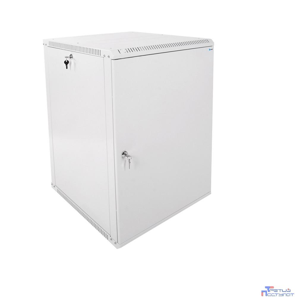 ЦМО! Шкаф телеком. настенный разборный 18U (600х650) дверь металл (ШРН-Э-18.650.1) (1 коробка)