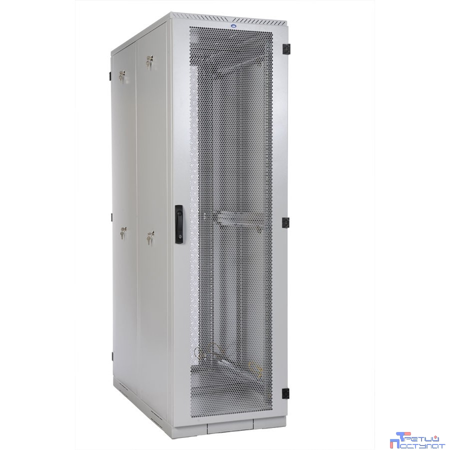 ЦМО! Шкаф серверный напольный 33U (600x1000) дверь перфорированная 2 шт. (ШТК-С-33.6.10-44АА) (4 коробки)