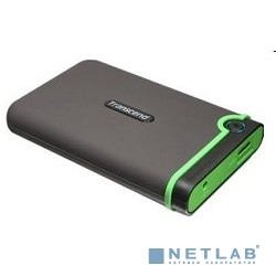 Transcend Portable HDD 1Tb StoreJet TS1TSJ25M3 {USB 3.0, 2.5'', black-green}