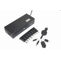 Energenie EG-MC-003 Адаптер-Зар. устр. Energenie Универсальное EG-MC-003 110-220В  для ноутбуков и USB 150Вт 12-24В/<wbr>6,5А