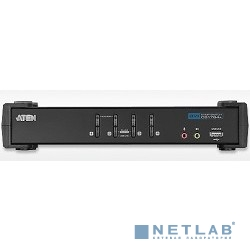 ATEN CS1764A(-AT-G) переключатель USB+DVI/4 PORT USB 2.0 DVI KVMP SWITC1.8M W/2